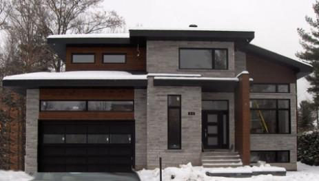 Renovation maison plan agrandissement plan ajout garage - Maison renover avant apres ...